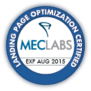 Certified in Landing Page Optimization